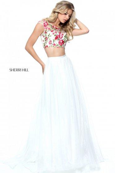 Sherri Hill 51243 White Dress