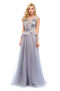 Ana Radu Elegant Desire Grey Dress