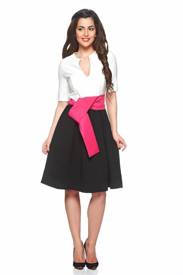 PrettyGirl Modern Design Black Dress