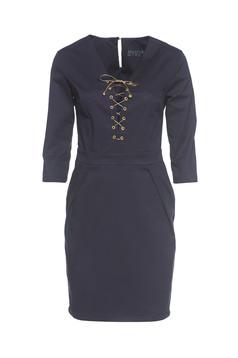 PrettyGirl Stylish Lady DarkBlue Dress