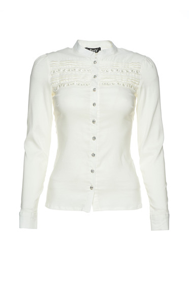 Fofy Insertion Nude Shirt