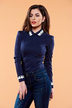 Fofy Beautiful Style DarkBlue Shirt