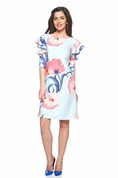 LaDonna Desire Floral LightBlue Dress