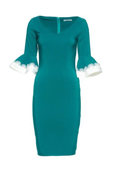 LaDonna Office Charisma Green Dress
