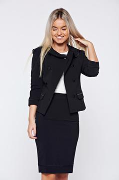 LaDonna black office lady set inside lining