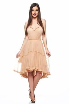 Ana Radu Pretty Flame Cream Dress