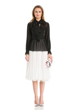 Daniella Cristea Magic Move White Skirt