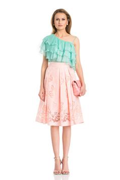 Daniella Cristea Trendy Woman Rosa Skirt
