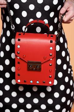 Sensational Red Leather Bag