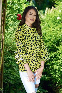 PrettyGirl Perfect Butterfly Yellow Blouse