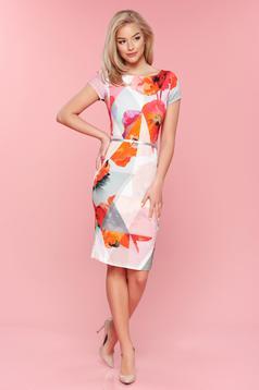 PrettyGirl Spring Image Coral Dress