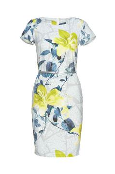 PrettyGirl Spring Image Grey Dress