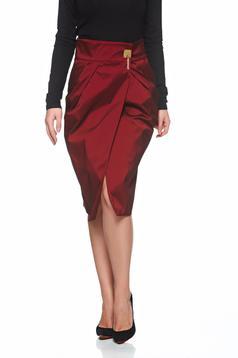 PrettyGirl Delicious Style Burgundy Skirt