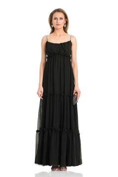 Daniella Cristea Romantic Date Black Dress