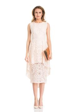 Daniella Cristea Girlish Love Cream Dress