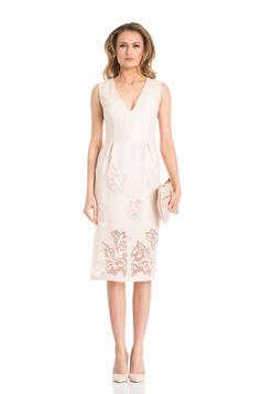 Daniella Cristea Young Spirit Cream Dress