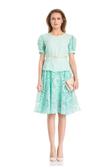 Daniella Cristea Delicacy Phantasm Mint Skirt