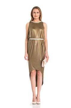 Daniella Cristea Gratitude Brown Dress