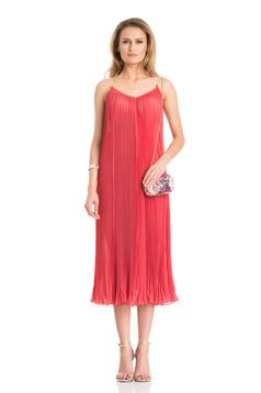 Daniella Cristea Tasty Feeling Coral Dress