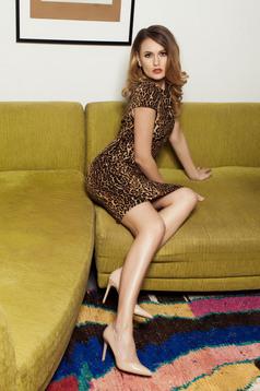 PrettyGirl Wild Pleasure Brown Dress