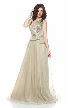 Ana Radu Elegant Desire Cream Dress
