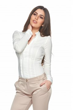 Fofy Simple Style Nude Shirt