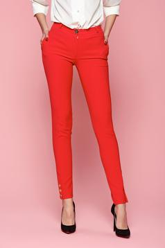 LaDonna Classic Style Red Trousers