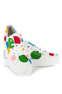 Colorful Life White Trainers