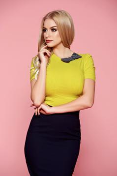 Fofy office lightgreen cotton women`s shirt