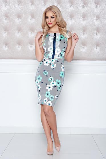 LaDonna mint pencil dress lace details