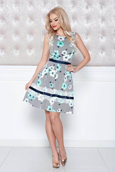 LaDonna mint dress sleeveless with floral prints