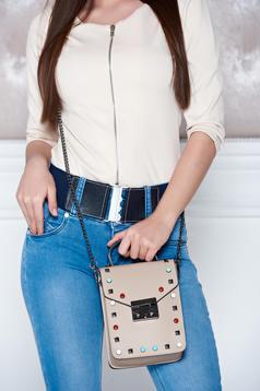 Sensational Cream Leather Bag