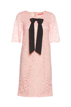 StarShinerS rosa laced dress bow shaped accessory