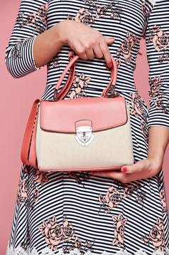 Office coral bag