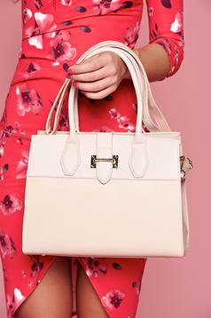 Casual rosa bag with a compartment with internal pockets