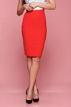 LaDonna Modesty Red Skirt
