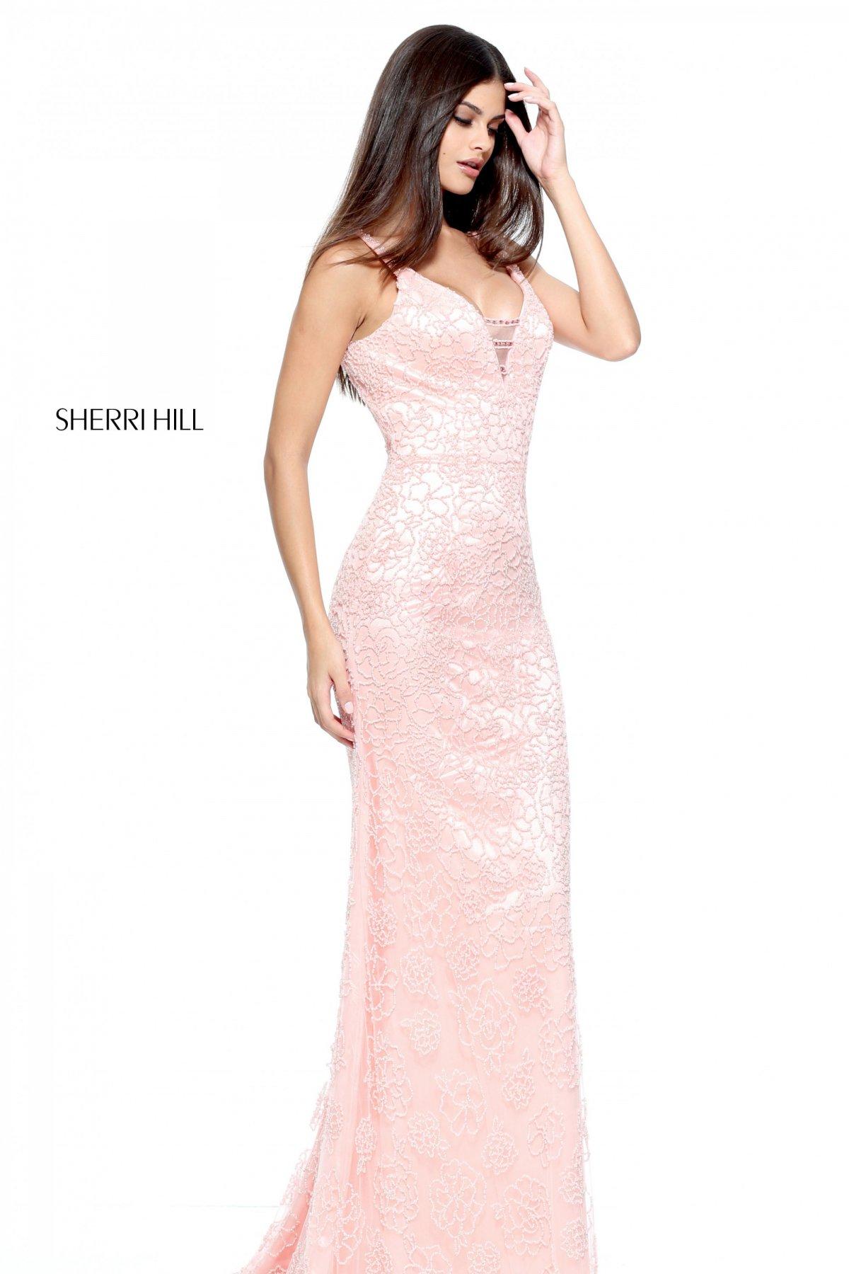 Rochie Sherri Hill 51106 Rosa