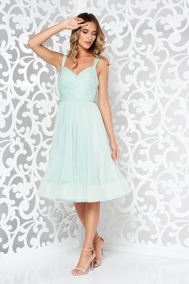 Ana Radu mint occasional inside lining dress with straps