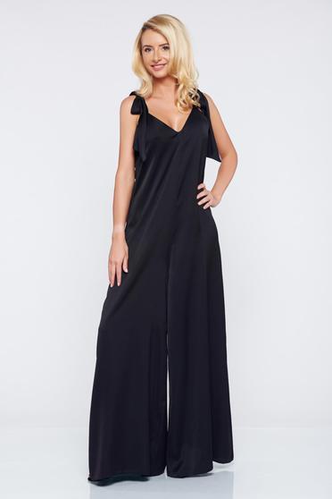 Occasional Ana Radu black jumpsuit with v-neckline