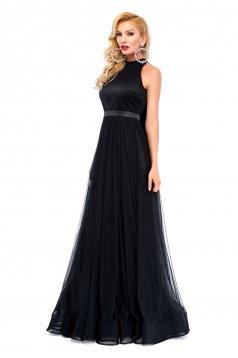 Ana Radu black evening dress