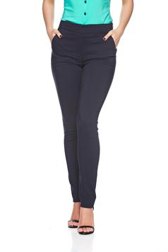 Fofy office darkblue conical trousers with pockets
