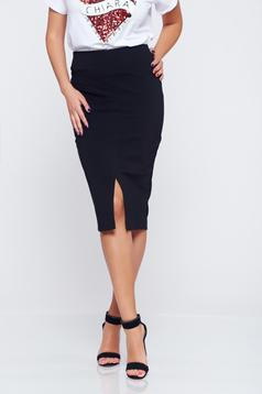 StarShinerS black high waisted pencil skirt