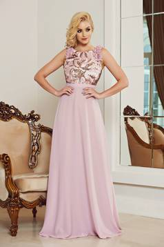 StarShinerS rosa occasional voile fabric dress with sequin embellished details