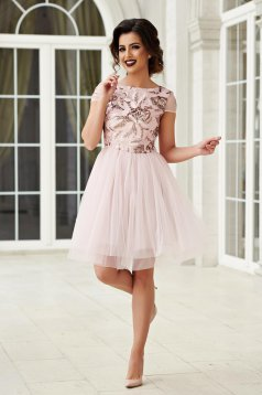 StarShinerS short occasional rosa cloche dress
