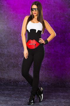 Ocassion black sleeveless jumpsuit
