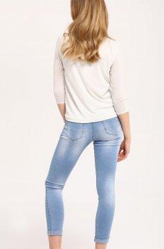 Top Secret S029335 White Sweater
