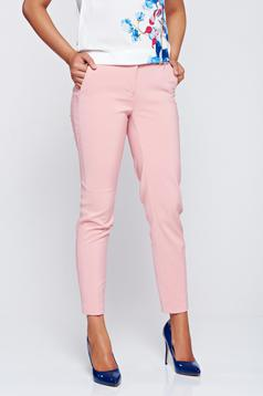 Top Secret peach conical trousers with pockets with medium waist
