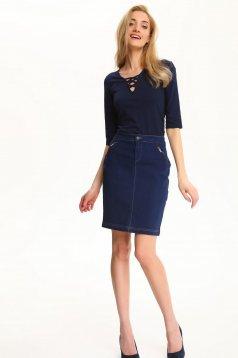 Top Secret S029479 DarkBlue Skirt