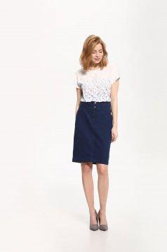Top Secret S029480 Blue Skirt