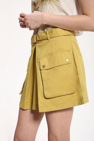 Top Secret S029487 Green Skirt